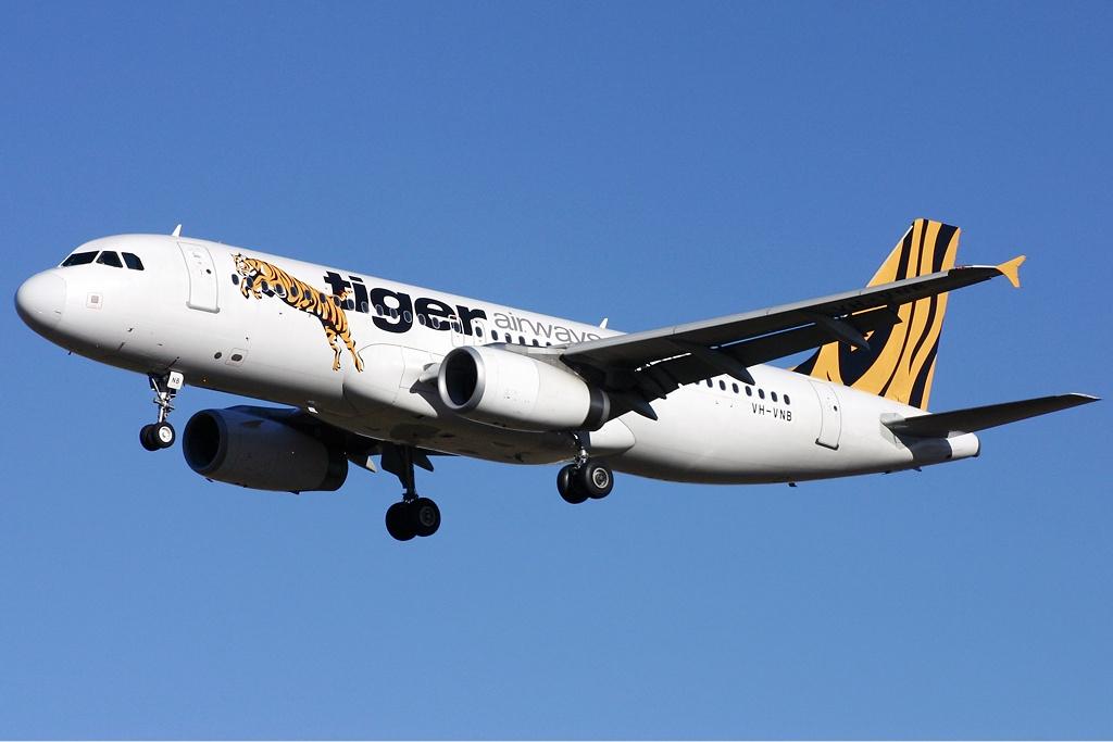 ve may bay di singapore tigerair