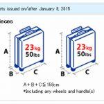 ANA áp dụng miễn cước 2 kiện hành lý cho hạng Phổ thông