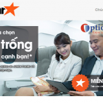 """Jetstar: Giới thiệu dịch vụ """"Chọn ghế trống (ESo) với Optiontown"""