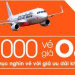 Jetstar khuyến mãi 16.000 vé máy bay giá 0 đồng