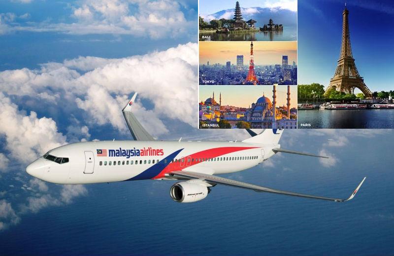 Du lịch thỏa thích cùng vé máy bay giá rẻ Malaysia Airlines