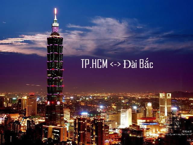 Vietjet Air khuyến mãi chặng TP.HCM  –  Đài Bắc và ngược lại