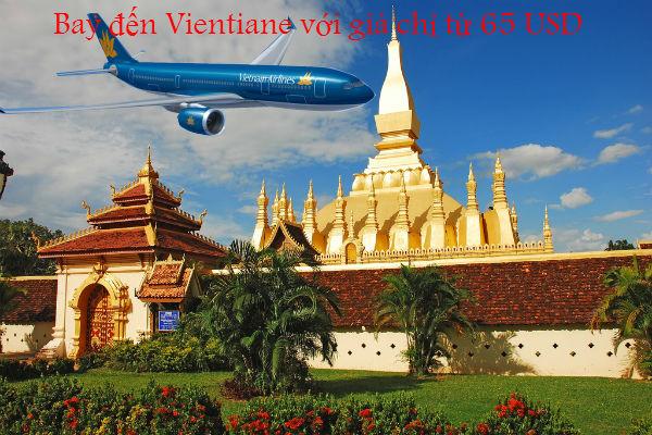 Bay đến Vientiane với giá chỉ từ 65 USD