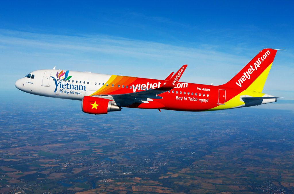 ve may bay gia re vietjet air