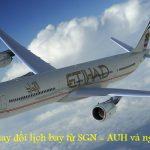 Etihad Airways thông báo thay đổi lịch bay