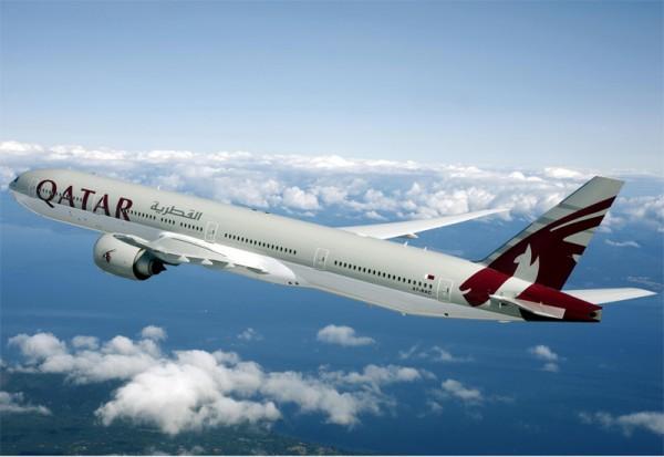 ve may bay qatar airways