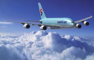 Đặt vé máy bay hãng hàng không Korean Air giá rẻ