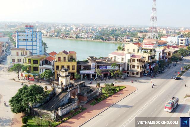 Vé máy bay đi Đồng Hới hãng VietJet Air