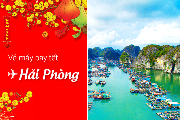 ve may bay tet di hai phong