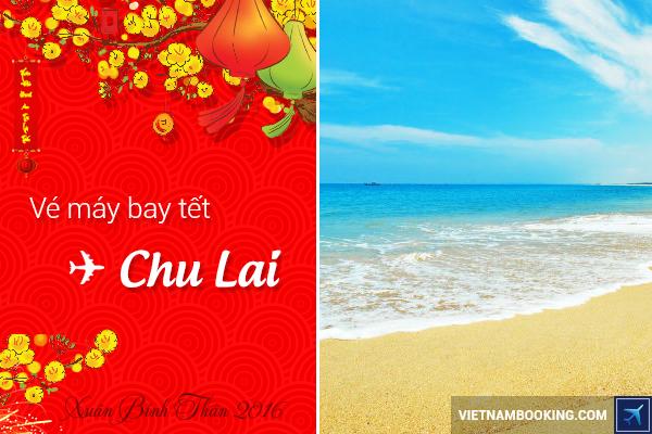 Vé máy bay Tết đi Chu Lai tại Vietnam Booking