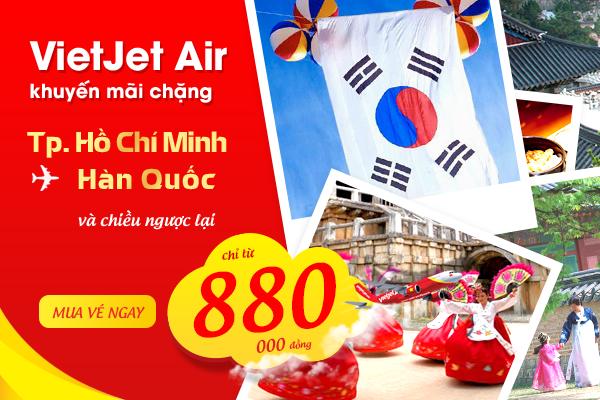 Đặt vé máy bay đi Seoul tại Vietnam Booking