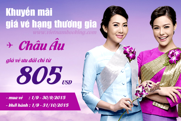 khuyen mai thai airways