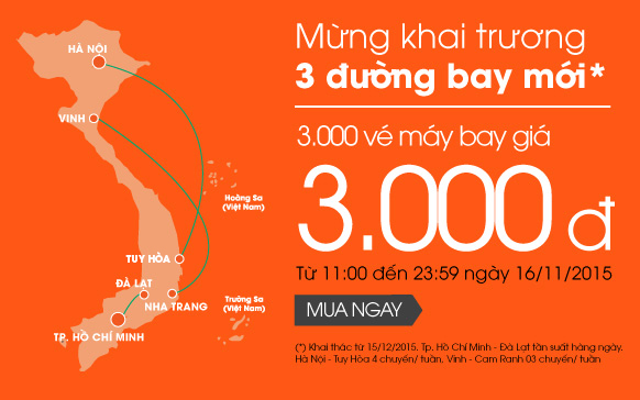 ve may bay 3000 dong jetstar