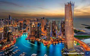 Vé máy bay đi Dubai hãng Qatar Airways