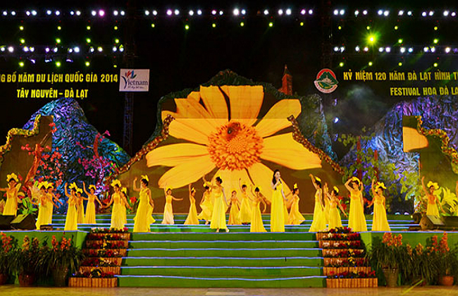 du lịch festival hoa Đà Lạt
