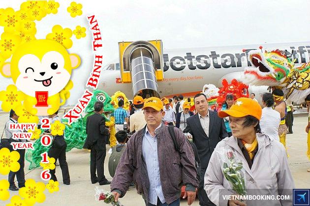 Jetstar tăng chuyến bay