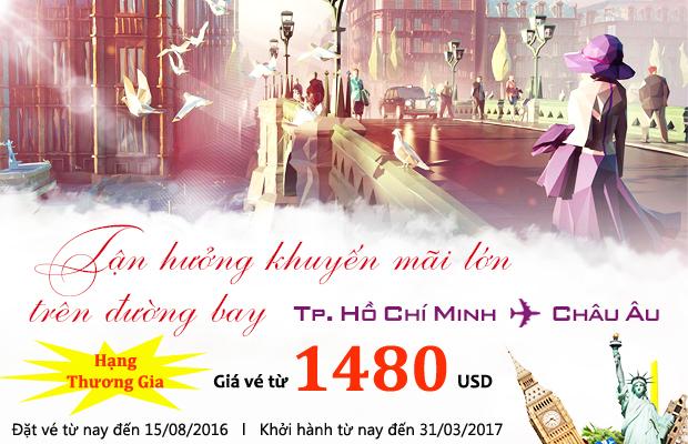 Etihad Airways: Thỏa sức săn vé giá rẻ hạng thương gia