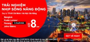 Cùng AirAsia trải nghiệm nhịp sống năng động!