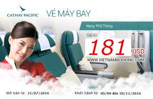 Cathay Pacific: Du lịch tiết kiệm, trải nghiệm tuyệt vời!