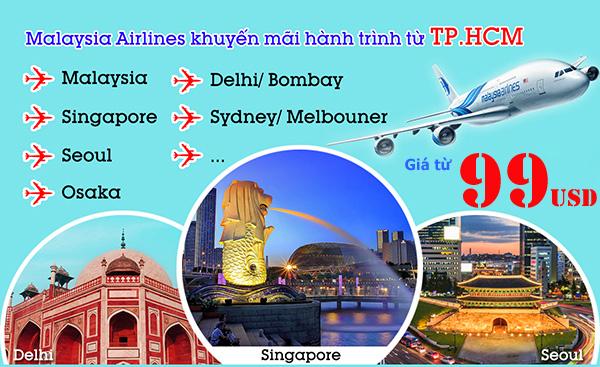 Khuyến mãi Malaydsia Airlines
