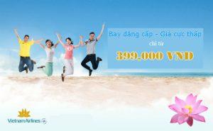 Vietnam Airlines: Ưu đãi hấp dẫn vào thứ 3 hàng tuần