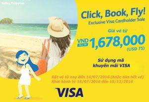Cebu Pacific: Bay đến Manila với giá vé từ 1,678,000 đồng