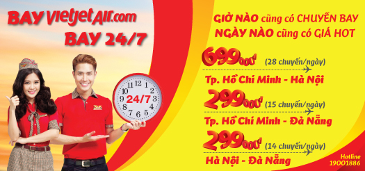 ve may bay vietjet air gia re
