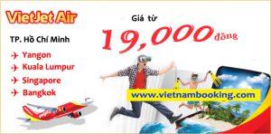Vietjet Air: Khuyến mãi vé Đông Nam Á siêu rẻ