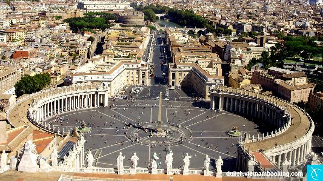 du lich vatican gia re