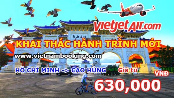 Vietjet Air: Cất cánh hành trình mới chỉ từ 630,000 đồng