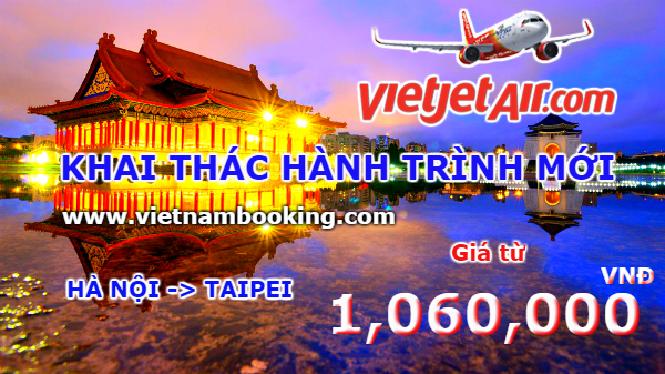 ve may bay vietjet air khuyen mai gia re
