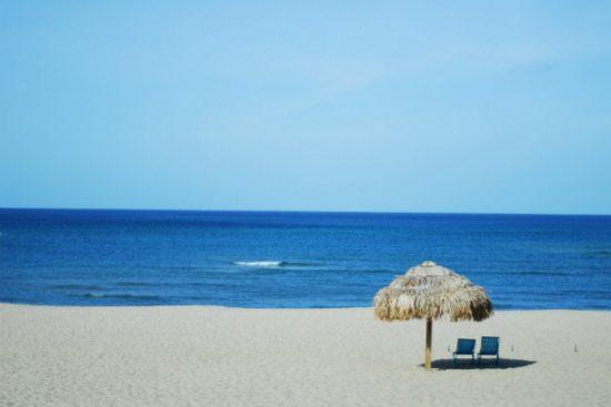 Biển Nhật Lệ ở Đồng Hới