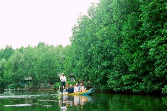 Tham quan tại khu du lịch Vàm Sát, Sài Gòn