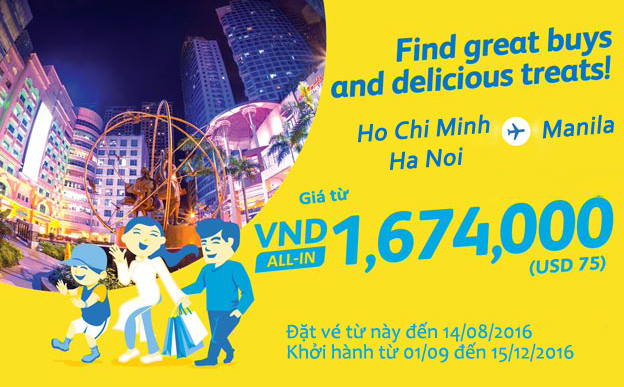 ve may bay cebu pacific khuyen mai gia ca phai chang
