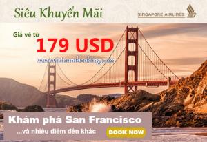 Singapore Airlines: Khuyến mãi mới chỉ từ 179 USD