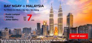 AirAsia tung vé khuyến mãi hấp dẫn chỉ từ 7 USD