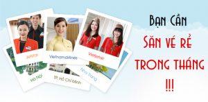 Săn vé máy bay giá rẻ tại Vietnam Booking – 7 ngày vui sống