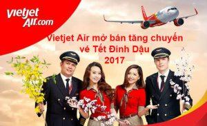 Vietjet Air: Mở bán tăng chuyến Tết Âm lịch Đinh Dậu 2017