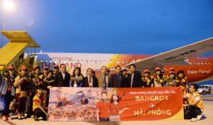 Vietjet Air: Khai trương đường bay mới Hải Phòng – Bangkok