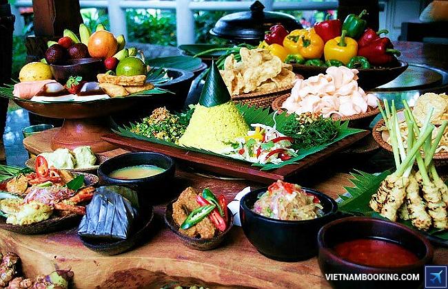 nên ăn gì khi đi du lịch indonesia