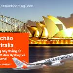 Jetstar Pacific: Mở mới đường bay thẳng Việt Nam – Úc
