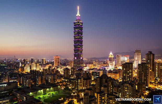 Tour du lịch Đài Loan 6n5đ