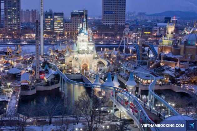 Tour Hàn Quốc: Seoul – Nami – Lotte World – Skiing 5N4Đ (28 Âm lịch)