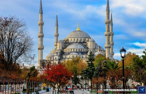 Tour du lịch Thổ Nhĩ Kỳ 10n9đ hấp dẫn