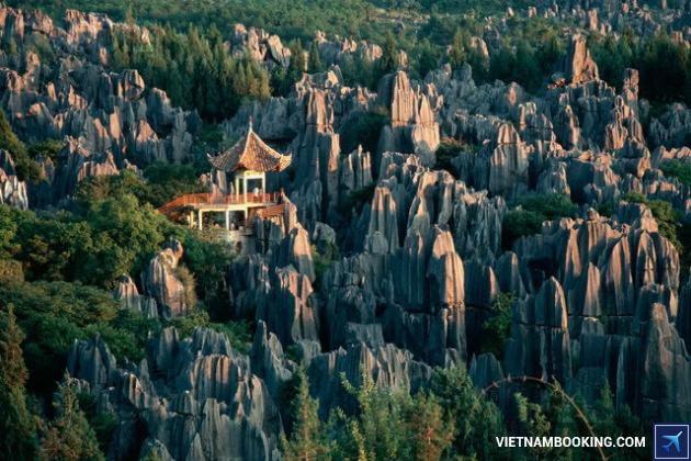 lịch trình tour Trung Quốc: Côn Minh – Thạch Lâm – Lệ Giang – Đại Lý 6N5Đ