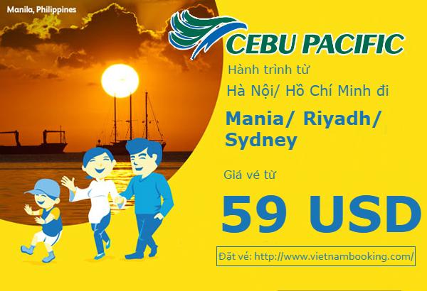 Cuối tuần săn vé Cebu: Cơ hội vàng, bay cùng ngàn vé rẻ