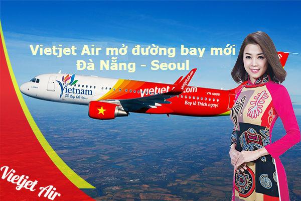 Vietjet Air: Mở đường bay mới Đà Nẵng – Seoul
