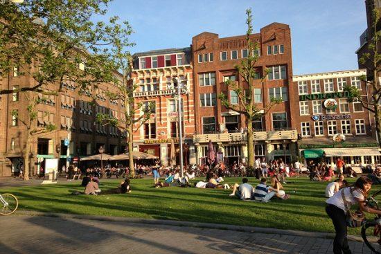 Khách sạn Amsterdam về nuôi