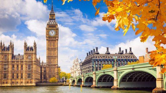 Du lịch Anh tháng 4
