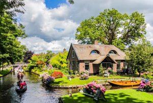 Chiêm ngưỡng ngôi làng tuyệt đẹp ở Hà Lan